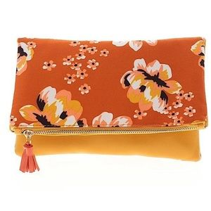 NWOT Rachel Pally Fold Over Floral Clutch